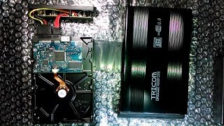 IE#7: How to convert a 3.5 inch internal hard drive into an external drive!