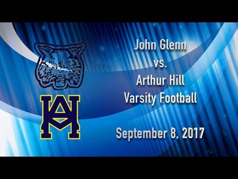 BCTV Sports  John Glenn vs. Arthur Hill Varsity Football  Sept. 8, 2017