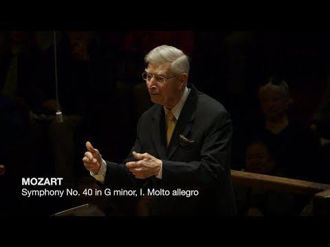 Herbert Blomstedt Conducts Mozart's Symphony No. 40