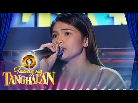 Tawag ng Tanghalan: Glaiza Micua | If I Sing You A Love Song