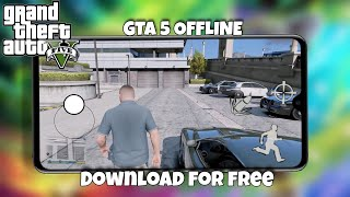Download now GTA 5 Offline for Android || GTA 5 CITY+Helicopter+Car on Android