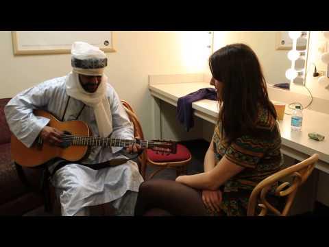 Abdallah of Tinariwen serenades Lydia from The Melodic