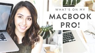 What's On My Macbook Pro | Organizing Your Life + Favorite Apps