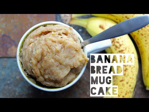 1-minute-banana-bread-mug-cake-|-healthy-banana-bread-mug-cake-recipe