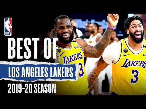 The VERY Best Of Lakers 2019-20 Season