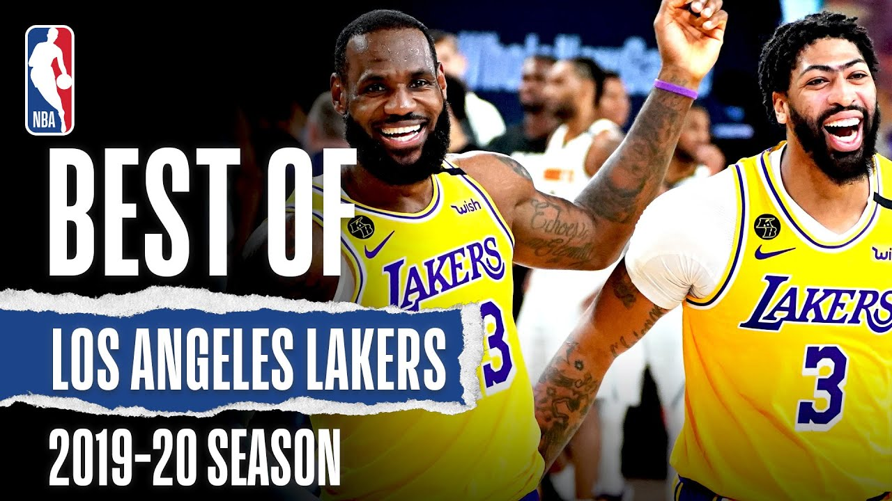 Download The VERY Best Of Lakers 2019-20 Season