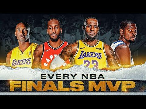 EVERY NBA FINALS MVP   Jordan, Kareem, LeBron and MORE 🏆