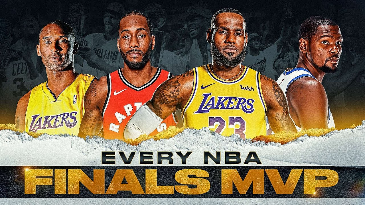 EVERY NBA FINALS MVP | Jordan, Kareem, LeBron and MORE 🏆