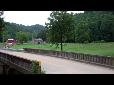 Sextons Creek Bridge in clay county Ky.