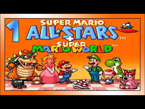 SUPER MARIO ALLSTARS Part 1 - Ich zeige meinen Skill in Super Mario Bros.