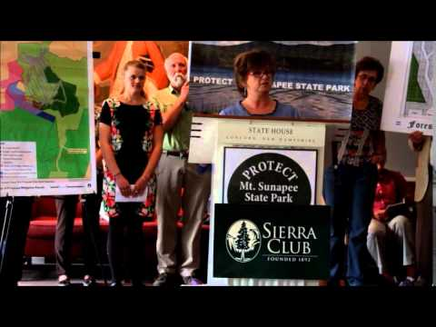Sierra Club NH /Friends of Mt Sunapee Press Conference June 4 (complete)