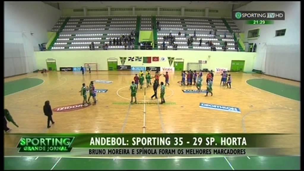 Andebol :: 16J :: Sporting - 35 x Sp. Horta - 29 de 2014/2015
