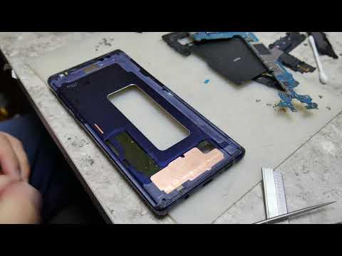 SAMSUNG Note 9 (512GB) / Разбили вытащив из коробки. Замена дисплея.