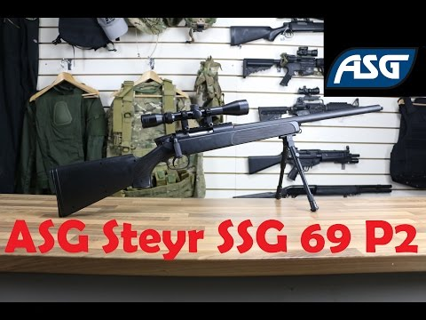 ASG Steyr SSG 69 P2 Unboxing & Assembly
