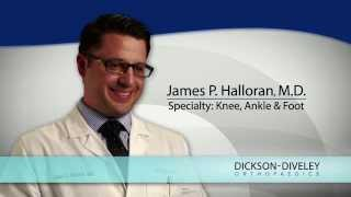 Meet Dr. James P. Halloran, Orthopedic Surgeon