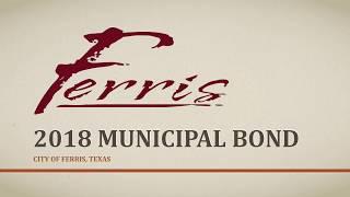 Ferris 2018 Municipal Bond Information
