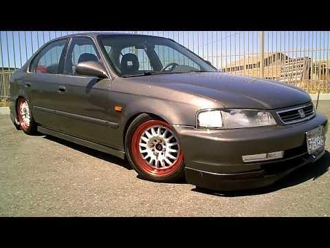 1999 2000 Ek Honda Civic Domani Sedan With Jdm Front Rear