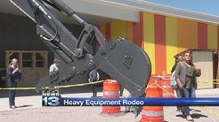 New Mexico high school students learn about heavy equipment operation