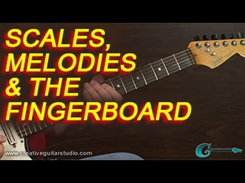 GUITAR THEORY: Scales, Melodies and the Fingerboard