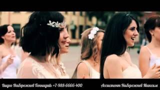 Парад невест Славянск -на-Кубани 2015