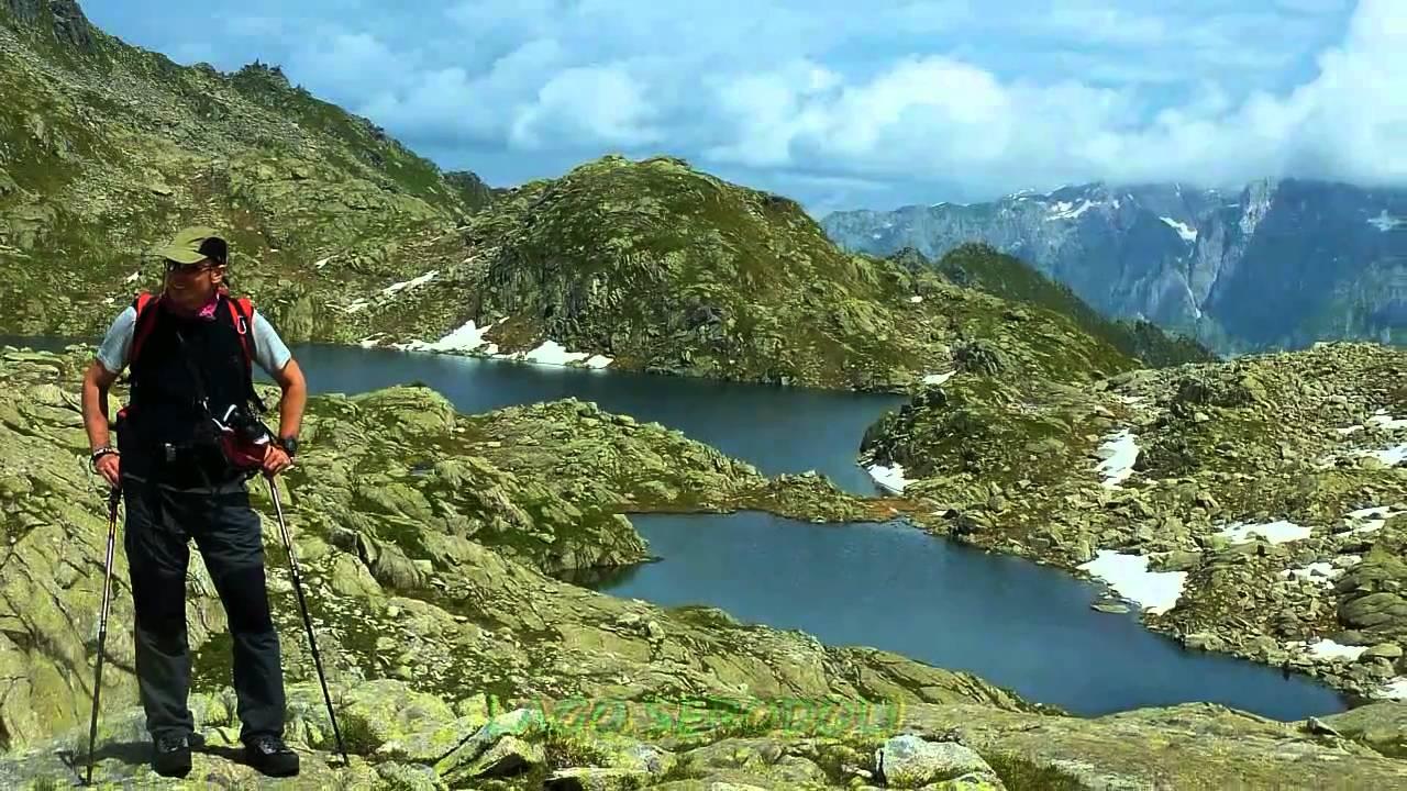 Giro dei 5 laghi around the 5 lakes madonna di for Disegni di laghi