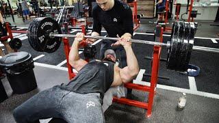 TIME TO GROW YOUR ARMS | CLOSE GRIP 405lb | EP. 4
