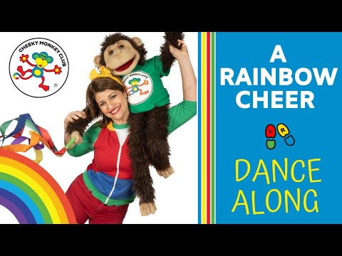 A Rainbow Cheer | Songs for Kids | Dance-a-long