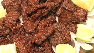 Carne de Res Frita  Fried Beef  Ep. 50