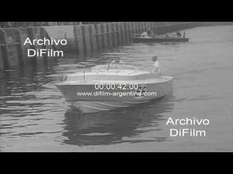 Campeonato mundial de Offshore en Inglaterra 1964