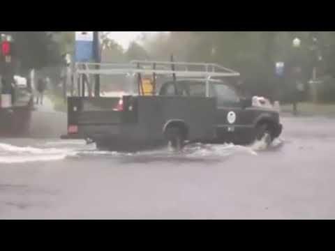 EXTREME FLOOD Hurricane Florence Swansboro NC California