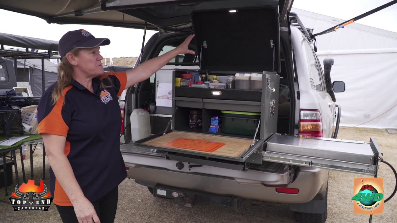 Top End Camp Kitchen At The Sydney 4wd Adventure Show Youtube