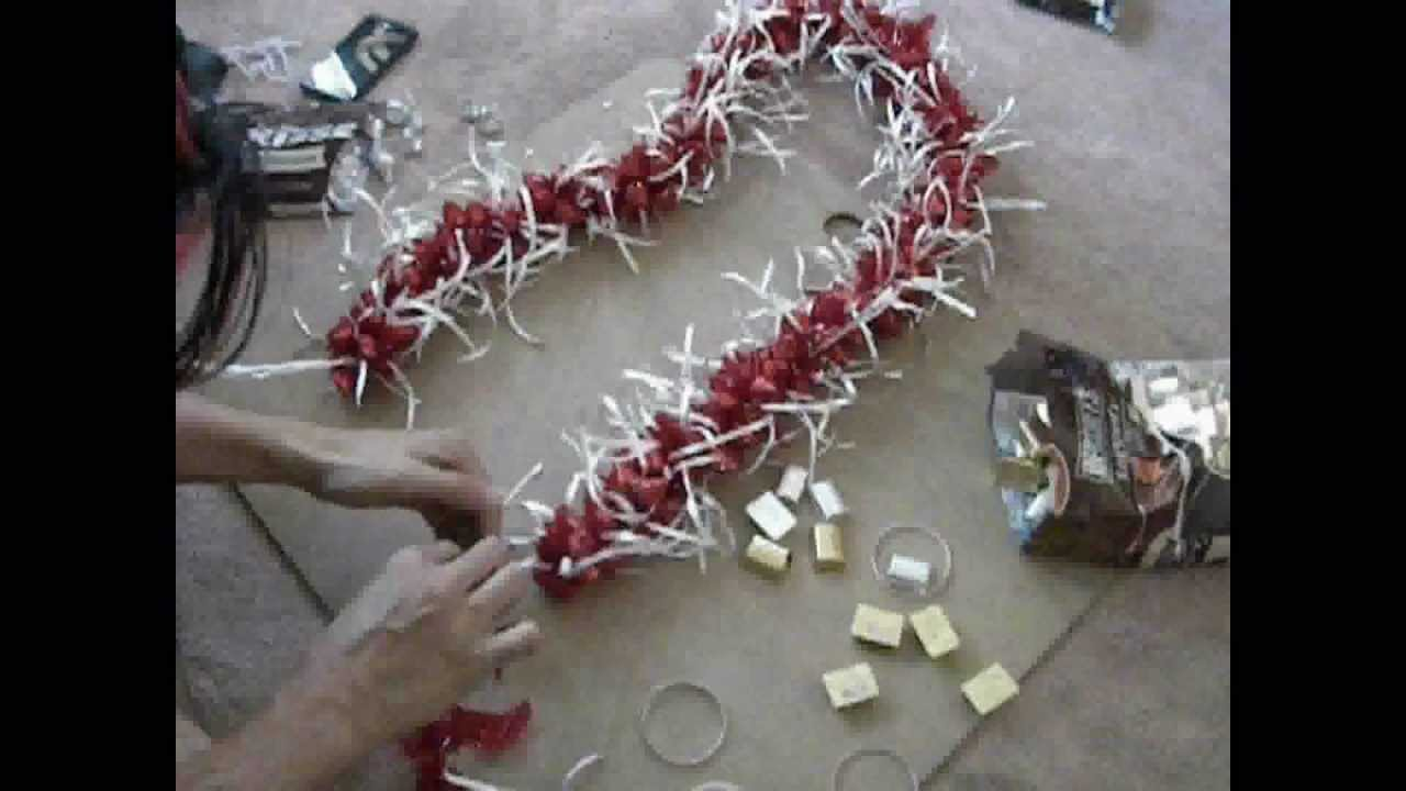 SPEED UP Making 3D Candy Lei thats Ti Leaf Lei