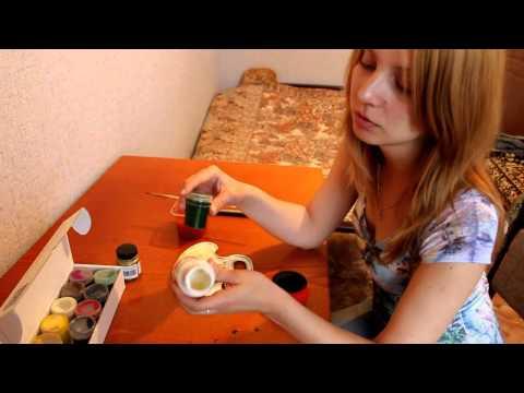 Роспись деревянной шкатулки пошаговый видеоурок