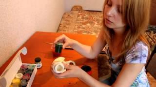 Роспись шкатулки (Пошаговый видео-урок)