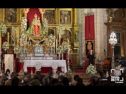 """VÍDEO: Fiestas Aracelitanas 2018: El """"paseillo"""" y el Pregón Aracelitano de José Millán en San Mateo"""