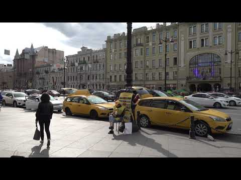 Walking in St. Petersburg - Nevsky Prospekt - part 1 of 3