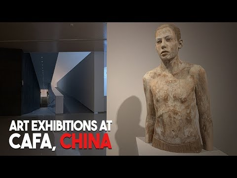 Visiting Art Exhibitions in Beijing