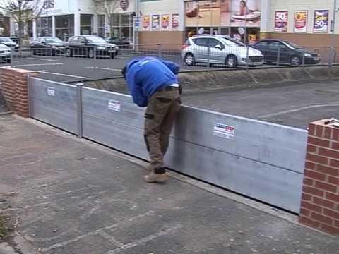 Floodstop UK - Nautilus Flood Barrier System