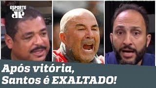 """""""Eu DUVIDAVA, mas esse Santos vai lutar pelo TÍTULO!"""" Peixe é EXALTADO!"""