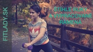 Super efektívne cvičenie zamerané na štíhle ruky a vypracované ramená