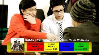 Video Yovie & Nuno - GALAU download MP3, 3GP, MP4, WEBM, AVI, FLV Oktober 2017