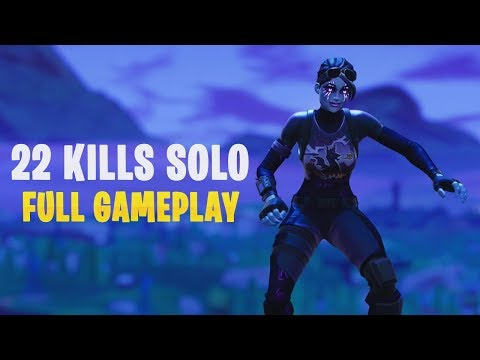 22 Kills Solo | Console - Fortnite Gameplay