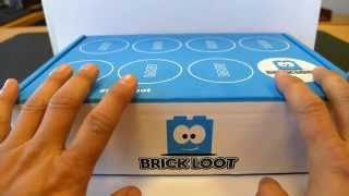 unboxing video of BRICK LOOT!!! an AWESOME monthly LEGO subscription mystery box of goodies! thumbnail
