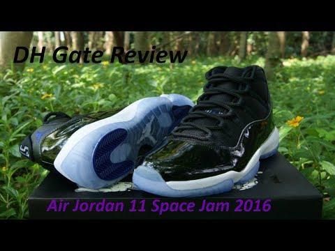 DHgate Air Jordan 11 Space Jam 11 Review