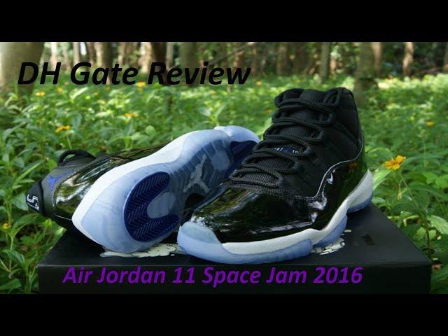 legjobb eladás hiteles online lenni DHgate Air Jordan 11 Space Jam 11 Review - With Loop Control ...