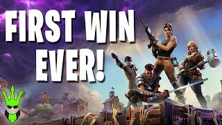 WINNING THE GAME FOR THE FIRST TIME! - Fortnite Highlight - Stream Recap