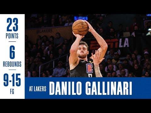 Danilo Gallinari Highlights at Lakers | 3/4