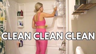 deep cleaning my whole apartment