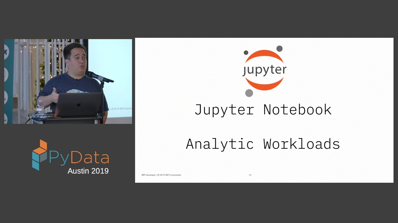 Image from Luciano Resende, Alan Chin: AI pipelines powered by Jupyter notebooks | PyData Austin 2019
