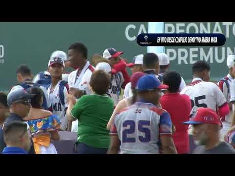 Pre-Mundial de Beisbol U15: Estados Unidos vs Panama (Medalla de Oro)
